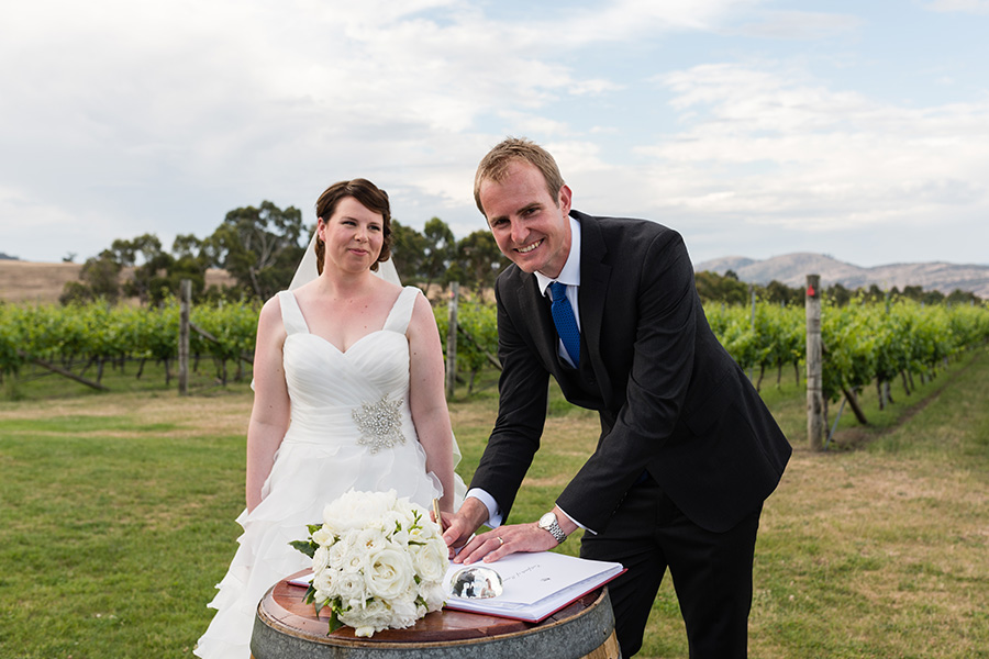 Frogmore Creek Tasmania - Wedding
