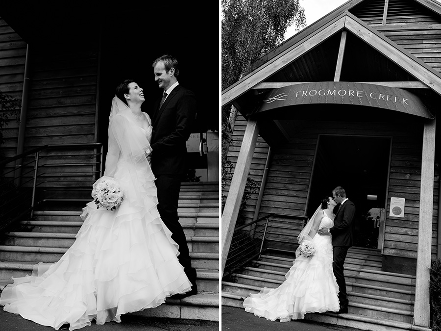 Frogmore Creek Winery Wedding