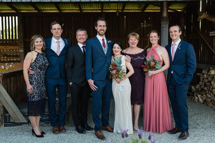 Willie Smith Apple Shed - Tasmania - Wedding