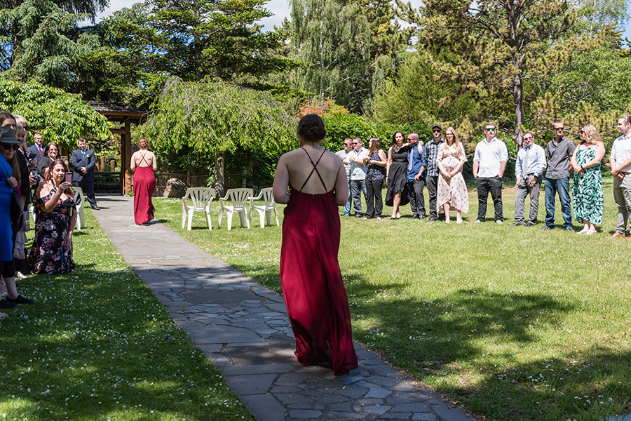 Royal Tasmanian Botanical Gardens Wedding