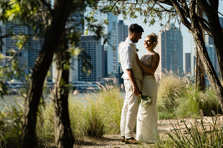 Kangaroo Point Brisbane Wedding