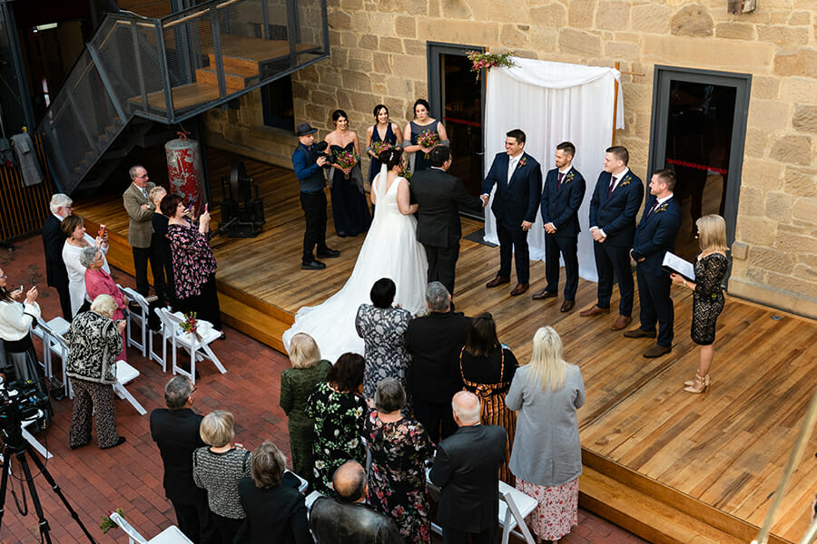 The Henry Jones Art Hotel Hobart - Wedding