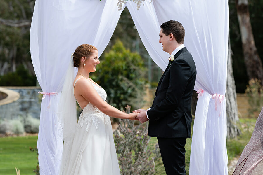 Melissa & John Wedding - Seven Mile Beach - Ramada Resort