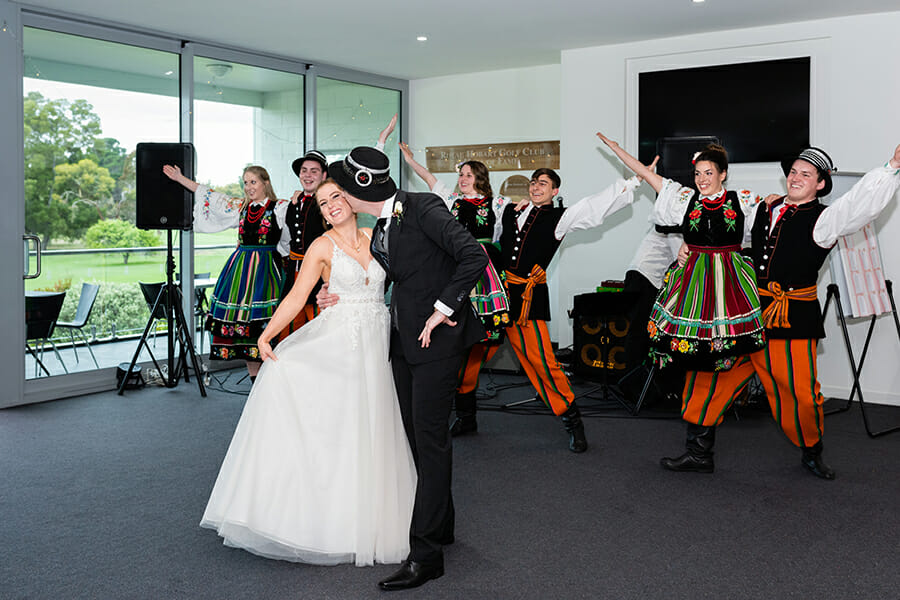 Melissa & John Wedding - Seven Mile Beach - Royal Hobart Golf Club