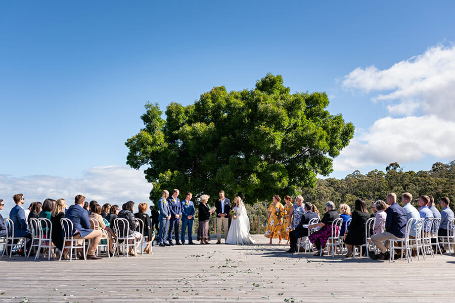 Hobart Wedding Photographer - Sarah Eliza - Glen Albyn Estate