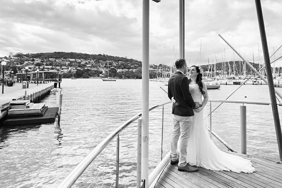 Marcy & John - Bellerive Boardwalk Hobart Photographer