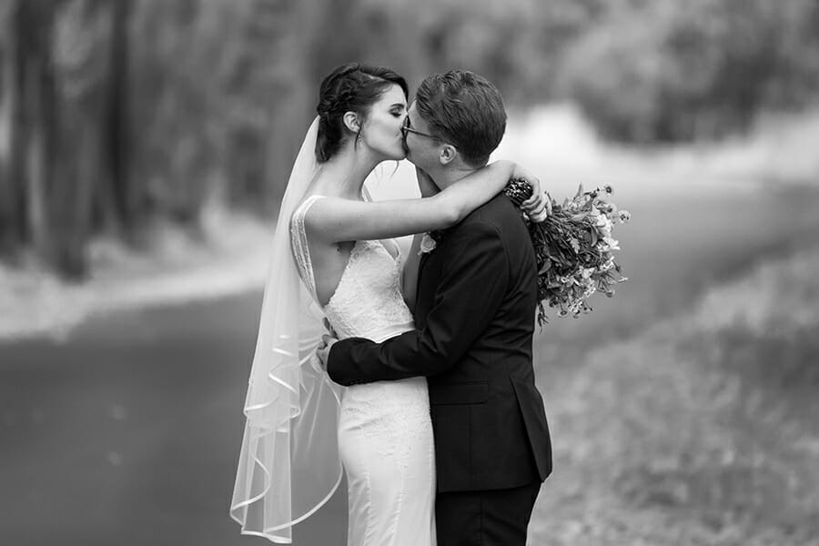 Wedding Salmon Ponds Tasmania Photographer