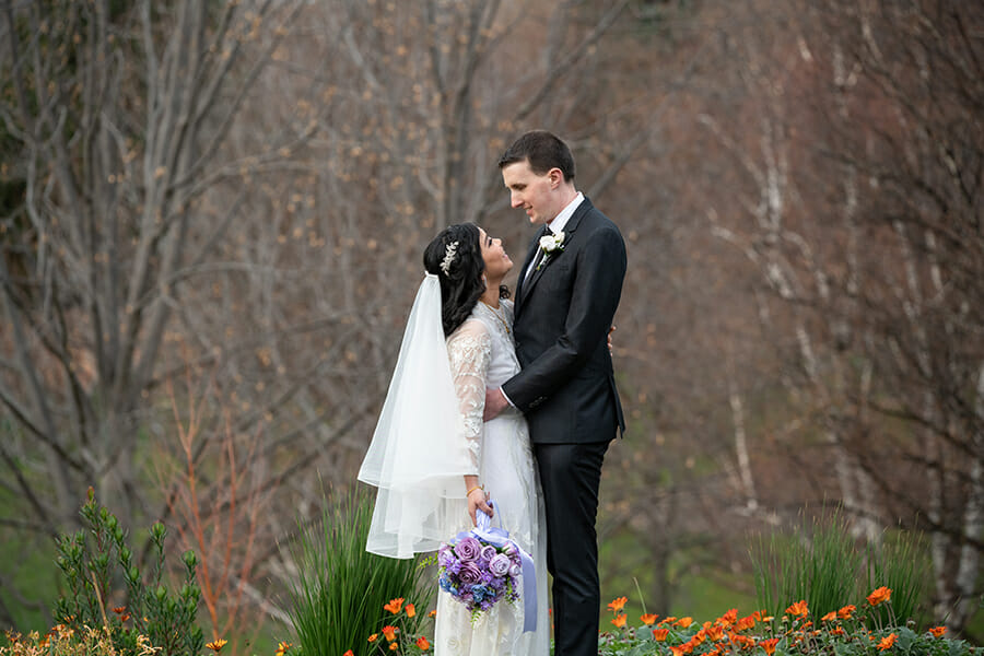 Hannah & John Wedding - The Royal Botanical Gardens Hobart - Sarah Eliza