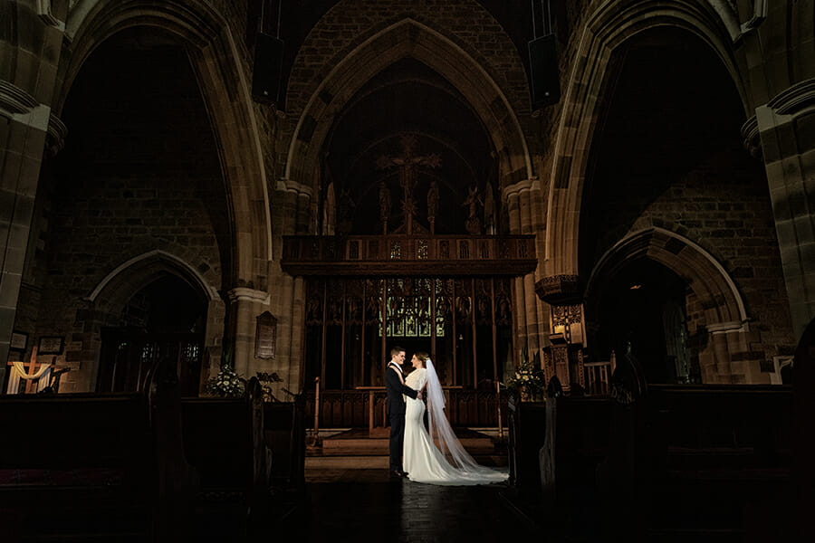 St Davids Cathedral Wedding Photography