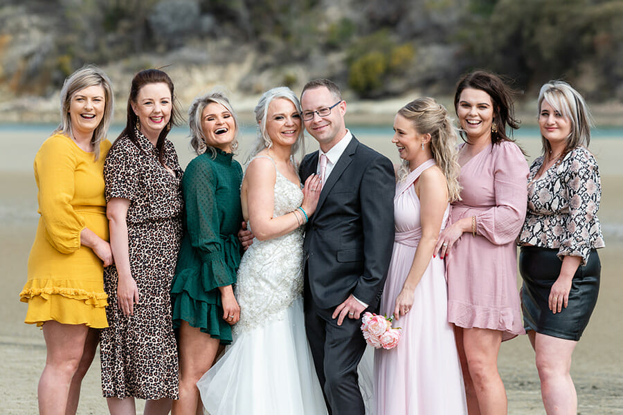 Steeles Island Carlton Tasmania, Wedding Photographer
