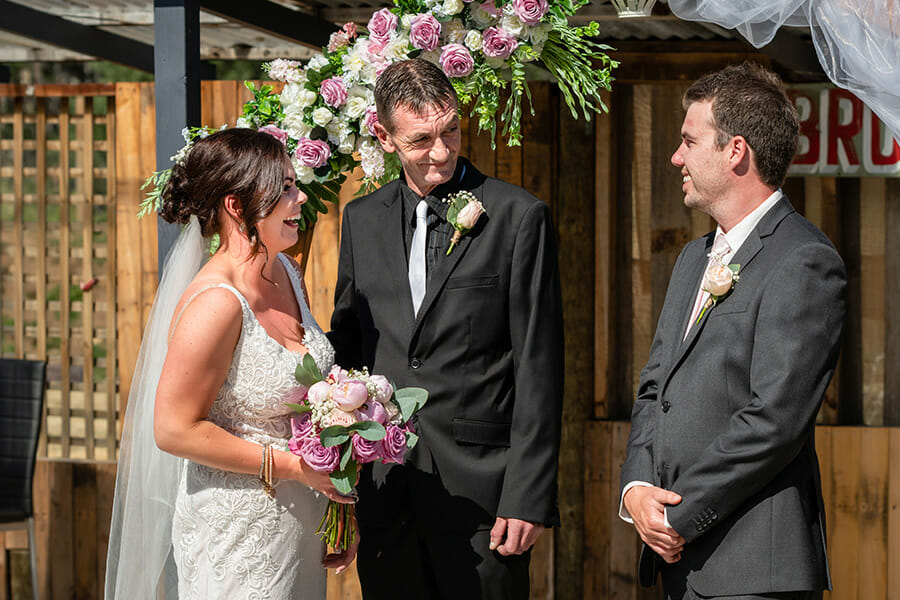 Brookfield Shed Margate Tasmania Wedding Photography - Jamie & Corey's wedding