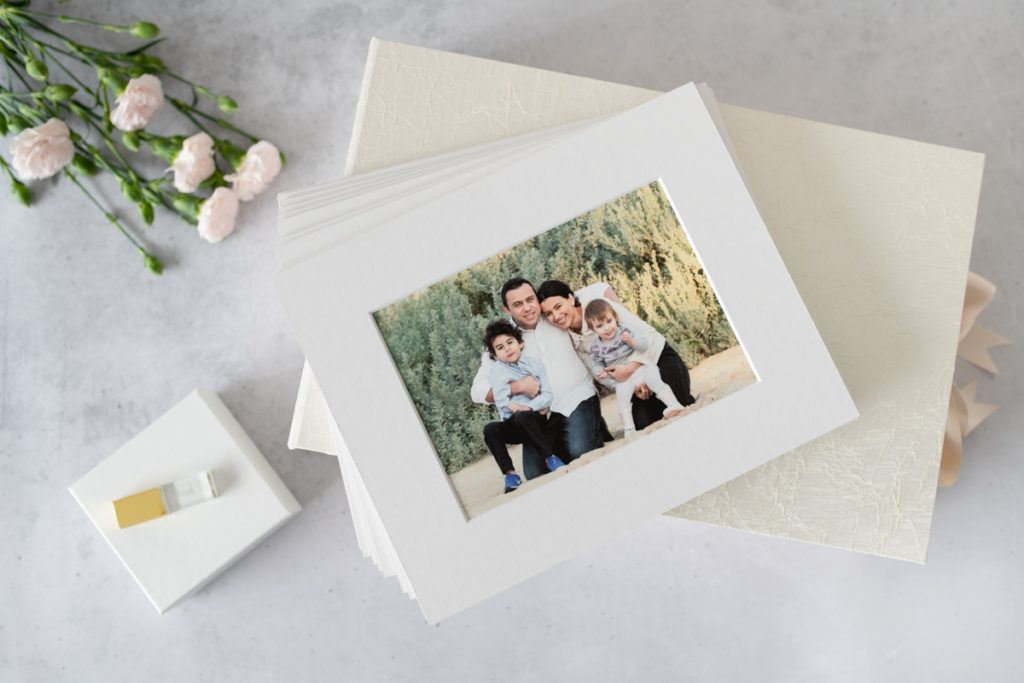 Family Portrait Matted Prints